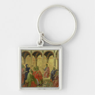 Maesta: Christ Among the Doctors, 1308-11 Keychain