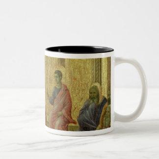 Maesta: Christ Among the Doctors, 1308-11 Two-Tone Coffee Mug