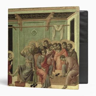 Maesta: Christ Washing the Disciples' Feet Vinyl Binders