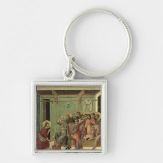 Maesta: Christ Washing the Disciples' Feet Keychain
