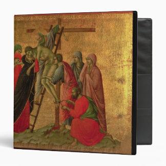 Maesta: Descent from the Cross, 1308-11 Binder