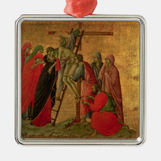 Maesta: Descent from the Cross, 1308-11 Metal Ornament