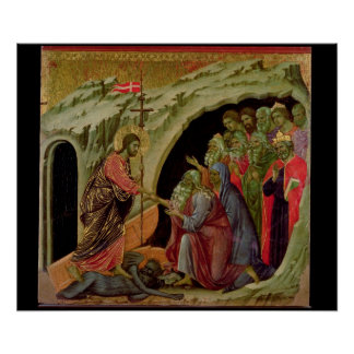 Maesta: Descent into Limbo, 1308-11 Poster