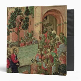 Maesta: Entry into Jerusalem, 1308-11 Vinyl Binder