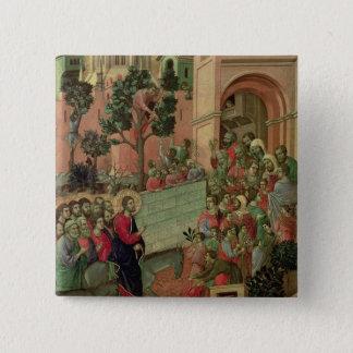 Maesta: Entry into Jerusalem, 1308-11 Pinback Button