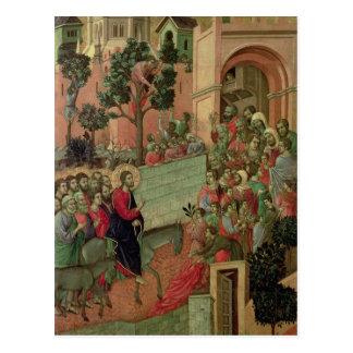 Maesta: Entry into Jerusalem, 1308-11 Postcard