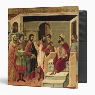 Maesta: Jesus before Herod, 1308-11 Vinyl Binder
