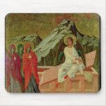 Maesta: Los tres Maries en la tumba de Cristo Mouse Pads