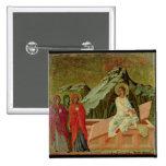 Maesta: Los tres Maries en la tumba de Cristo Pin Cuadrado