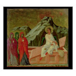 Maesta: Los tres Maries en la tumba de Cristo Póster