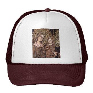 Maestà Madonna Enthroned As The Patron Saint Hat