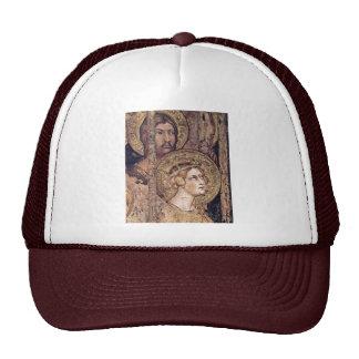 Maestà Madonna Enthroned As The Patron Saint Surro Hat