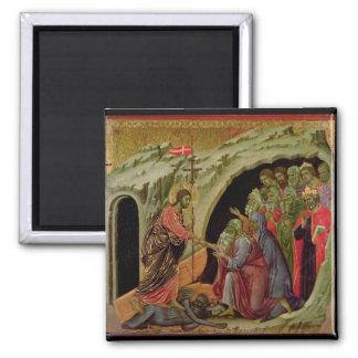 Maesta: Pendiente en el limbo, 1308-11 Imán Cuadrado