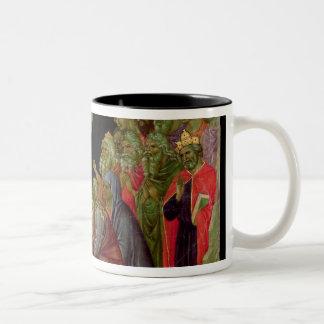 Maesta: Pendiente en el limbo, 1308-11 Taza De Dos Tonos