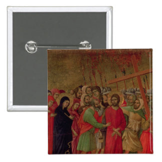 Maesta: The Road to Calvary, 1308-11 Button