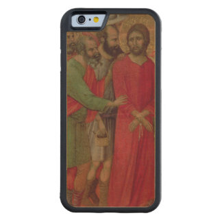 Maesta: The Road to Calvary, 1308-11 Carved® Maple iPhone 6 Bumper Case