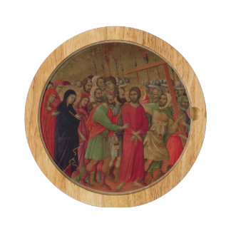 Maesta: The Road to Calvary, 1308-11 Cheese Board