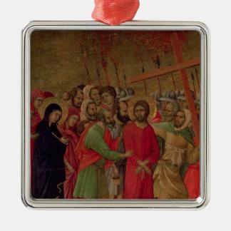 Maesta: The Road to Calvary, 1308-11 Metal Ornament