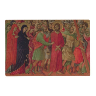 Maesta: The Road to Calvary, 1308-11 Placemat