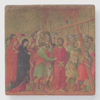 Maesta: The Road to Calvary, 1308-11 Stone Coaster