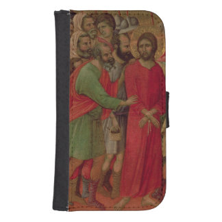Maesta: The Road to Calvary, 1308-11 Wallet Phone Case For Samsung Galaxy S4