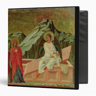 Maesta: The Three Maries at Christ's Tomb 3 Ring Binder