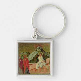 Maesta: The Three Maries at Christ's Tomb Keychain