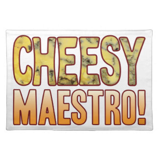 Maestro Blue Cheesy Placemat
