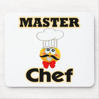 Maestro cocinero alfombrilla de ratón