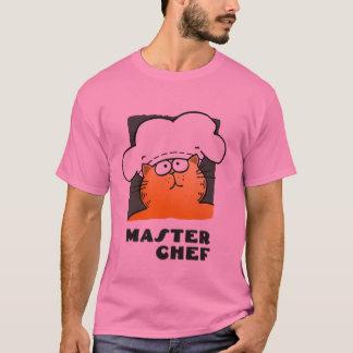 Maestro cocinero/camiseta divertida del cocinero playera