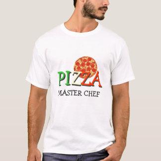 Maestro cocinero de la pizza playera