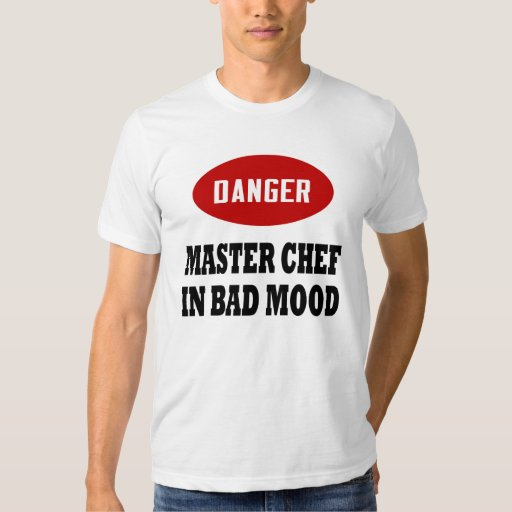 Maestro cocinero divertido playera