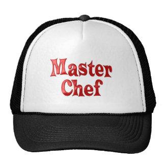 Maestro cocinero gorras
