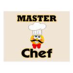 Maestro cocinero postales