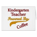 Maestro de jardín de infancia accionado por el caf tarjeton