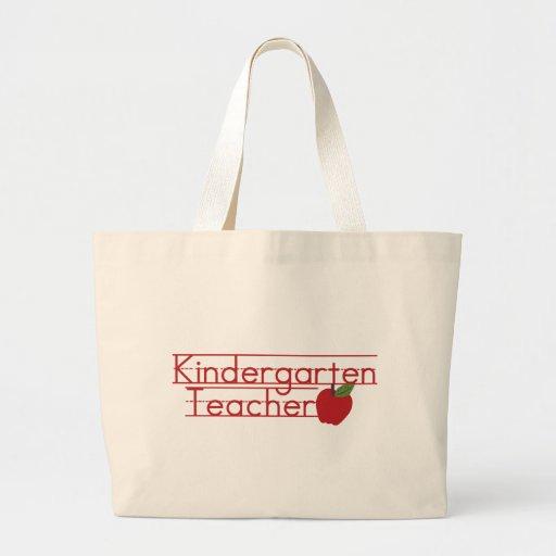 Maestro de jardín de infancia bolsas