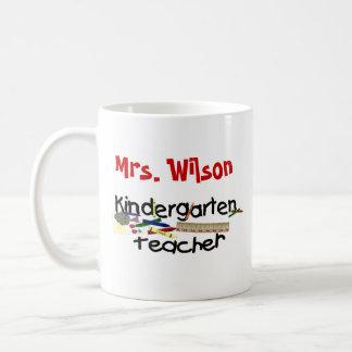 Maestro de jardín de infancia de encargo taza