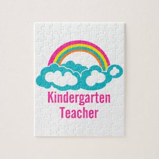 Maestro de jardín de infancia de la nube del arco puzzles con fotos