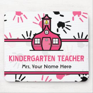 Maestro de jardín de infancia rosado y negro de Ha Tapetes De Raton