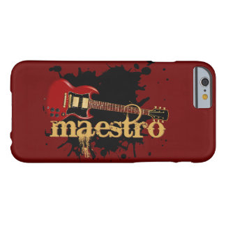 Maestro Grunge Electric Guitar Barely There iPhone 6 Case