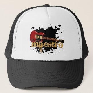 Maestro Grunge Electric Guitar Trucker Hat