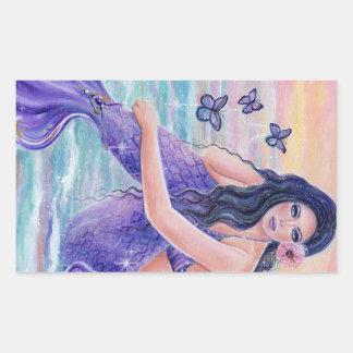 Maevat ropical mermaid ocean stickers by Renee