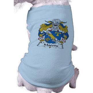 Maeztu Family Crest Doggie Tee Shirt