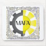 MAFA wordcloud mousepad