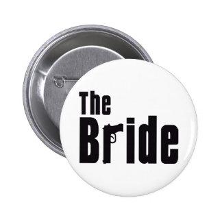 Mafia Bride Buttons