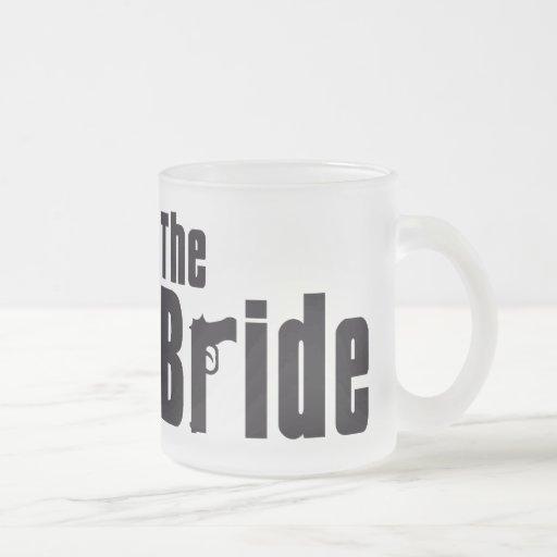 Mafia Bride Frosted Glass Coffee Mug