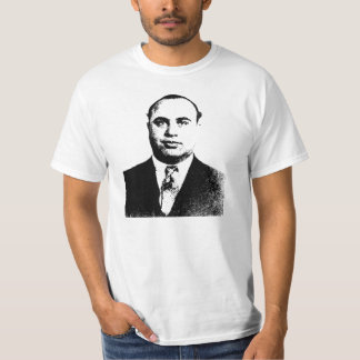 Mafia de la camiseta de Al Capone Camisas