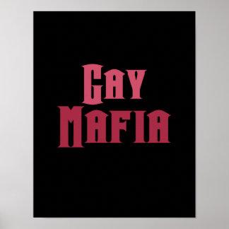 Mafia gay poster