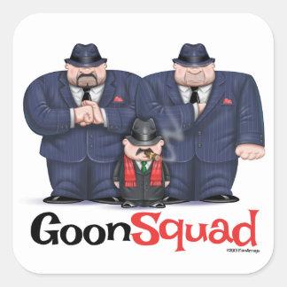 Mafia goon squad stickers