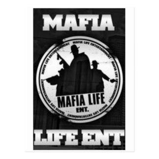MAFIA LIFE ENT POST CARD